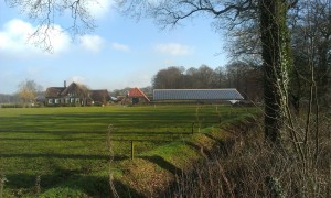 Farm with solar panels, Diepenveen, Netherlands